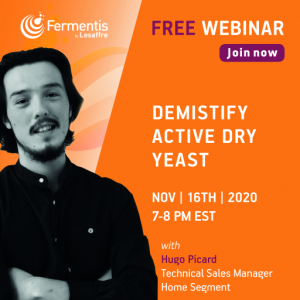 Fermentis free webinar - Demistify Active Dry Yeast